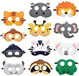 Jiahuade Animal Masks,Cumpleaños Patrulla Canina,Cuerda Elástica Máscaras,Máscaras de Animales para Niños,Máscaras de Fiesta,Máscaras para Niños