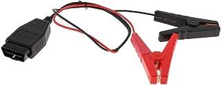 Perfeclan メモリセーバーコネクタ メモリーバックアップ 12V バッテリークランプ 高品質 実用的な
