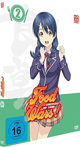 Food Wars! Shokugeki no Soma - Staffel 1 - Vol.2 - [DVD]