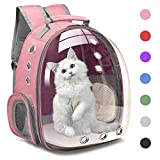 Henkelion Cat Backpack Carrier Bubble Carrying...