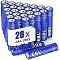 EBL 28 X Pilas AAA de 1,5V Alcalinas LR03 Gran Durabilidad…