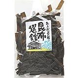海藻問屋 おつまみ昆布 (70g) 北海道産 おやつ こんぶ 真昆布 海藻 自然食品