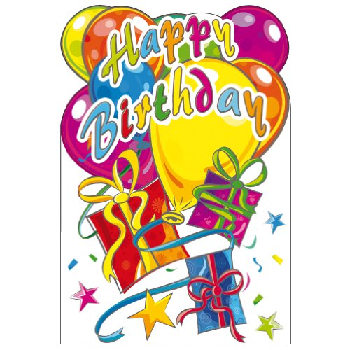 Susy Card wenskaart verjaardag ballonnen