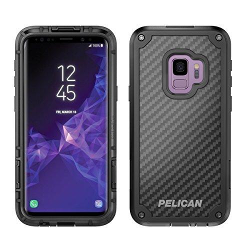 Samsung Galaxy S9 Case - Pelican Shield Case for Samsung Galaxy S9 (Black/Black)