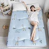 ZH Piso Tatami, durmiendo colchón Topper cojín Plegable Grueso, Almohada colchón futón, Mat Estudiante Célula compartida Cama (Color : T, Size : 0.9m Bed)