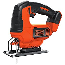 The BLACK+DECKER BDCJS20B - The best jigsaw for beginners (DIYers and home use) - Runner up / cordless option