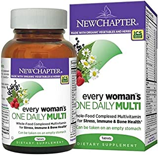 New Chapter Every Woman's One Daily Multi, 72 Tablets - 001080