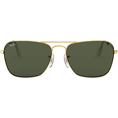 Ray-Ban Unisex's Rb 3136 Sunglasses, Gold, 55