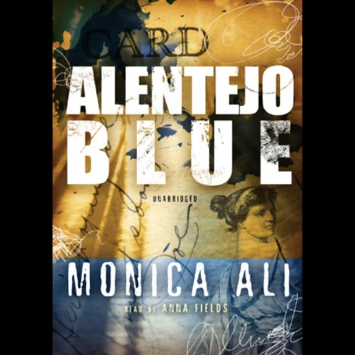 Alentejo Blue audiobook cover art
