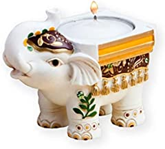 FASHIONCRAFT Good Luck Elephant Candle Holders – Good Luck Favors, 24 Count