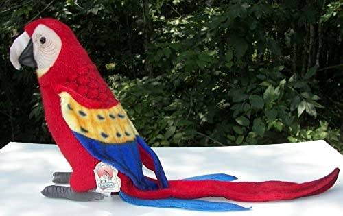 Hansa Macaw Plush, Svoiturelet by Hansa