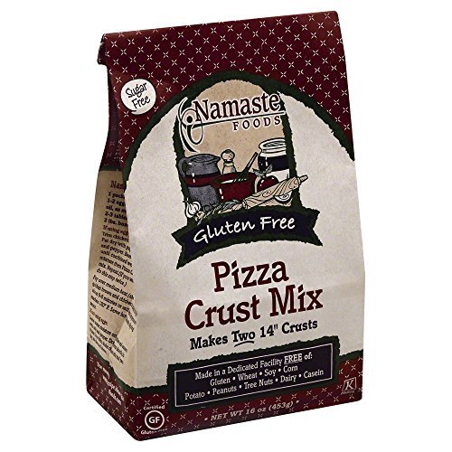 Namaste Pizza Crust Mix Sugar online Max 58% OFF shopping by Oz 6x16 Free
