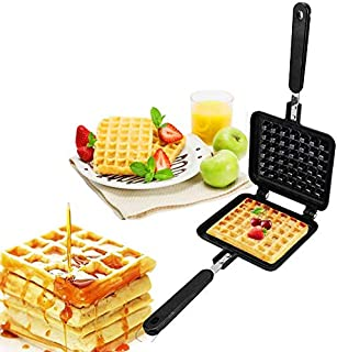 TIM Non-stick waffle iron, waffle maker pan material has no harmful substances or additives, suitable for Belgian waffle s...