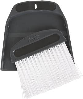 Coleman 2000016437 Broom Wisk & Dust pan, Black