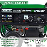 Photo #5: Propane Generator made by DuroMax [XP4850EH] Gas and Propane Compatible