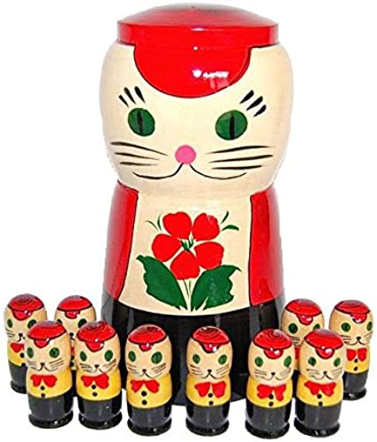 Number play cat (kitten 10 people set) (japan import)