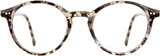 عینک مسدود کننده TIJN آبی روشن مردان عینک های چوبی دور ضخیم دور زنانه