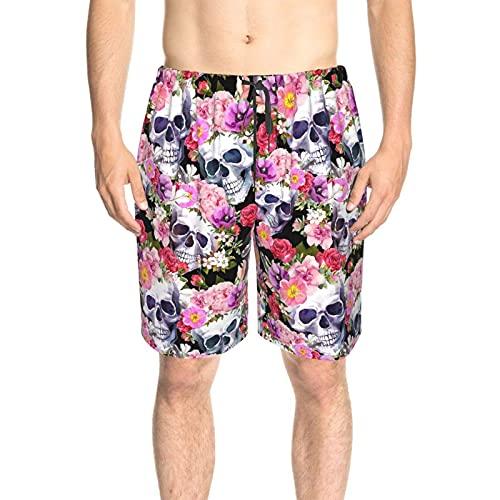 Bañador para hombre con texto en inglés  Día de San Valentín  para el Día de San Valentín, pantalones cortos de playa de secado rápido con forro de malla y bolsillos