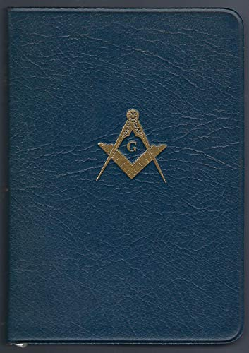 1968. Leather Bound. Holy Bible Masonic Temple Illustrated Edition, and King Solomon's Temple in Masonry. Illustrated, with King James Version, of the Holy Bible