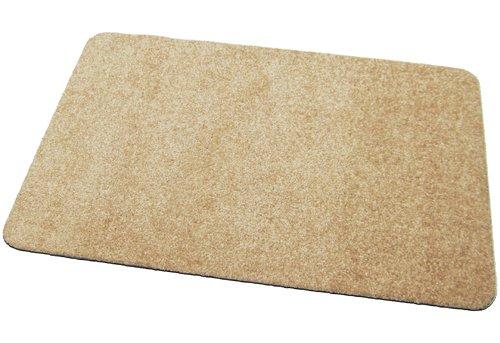 Deko-Matten-Shop Fußmatte Classic, Schmutzfangmatte, rechteckig, 40x60 cm, beige, in 13 Größen und 11 Farben