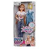 Simba Maggie & Bianca Maggie Fashion Doll con Cambio d'Abito, 109273113