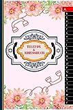 Adresse &- Telefonbuch: | Mit Geburtstagskalender und A-Z Register für Platzen Name, Adresse, Telefon, Skype, Mobil und eMail | ca DIN A5 (6 x 9 inches)