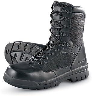 أحذية Bates للرجال 200 جرام من نسيج ثينسوليت العازل الصلب تو عالية التحمل باللون الأسود
