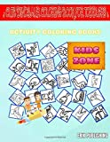 Cute Dinosaur Coloring Book For Toddlers: Picture Quizzes Words Activity And Coloring Book 30 Image Suchomimus, Meat, Suchomimus, Dinosaur, ... Mosasaurus, Excavation For Girls 8-12