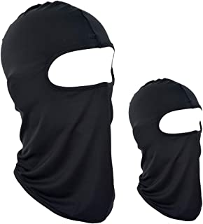 VIVOTE Lycra Balaclava Face Mask Motorcycle Cycling Outdoor Sports 2 Pack