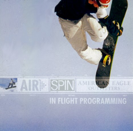 American Eagle Outfitters - Air Spin In Flight Programming