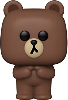 Funko 48151 POP Animation: Line Friends-Brown Collectible Toy, Multicolour