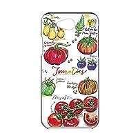 Y!mobile Android One 507SH 用 ハードケース スマホケース [オーガニック・トマト Tomato] イラスト ベジタブル ワイモバイル アンドロイド SIMフリー スマホカバー けーたいケース けいたいカバー FFANY garden_00x_h149@01