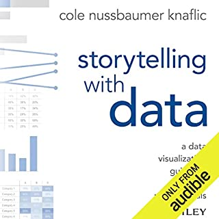 Storytelling with Data audiobook cover art