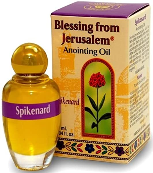 Spikenard Jerusalem Anointing Oil 0 34 Fl Oz From The Land Of The Bible By Bethlehem Gifts TM