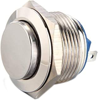 TEN-G 19Mm 12V Momentary Push Button Metal Switch For Car Auto Mini Durable Boat Hight Quality