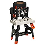 BLACK+DECKER 71382 Jr. Mega Power N' Play Workbench with Realistic Sounds! - 52 Tools & Accessories