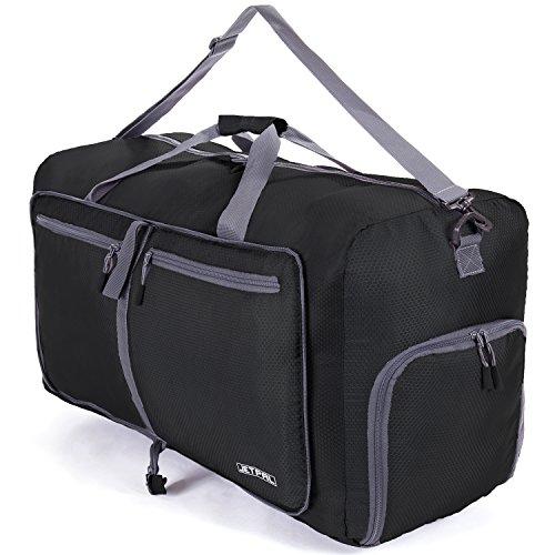 jetpal espacioso plegable bolsa de viaje–elegir su tamaño, Negro