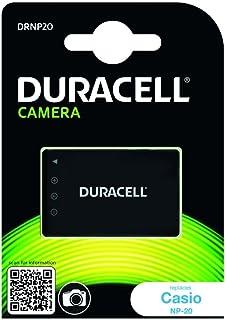 Duracell DRNP20 Batteria per Casio NP-20, 3.7V, 700 mAh, Nero
