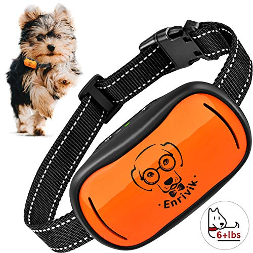 Dog Bark Collar for Small Dogs 5-15lbs - Small Dog Bark Collar Under 15 Pounds - Smallest Most Humane Anti Bark Collar