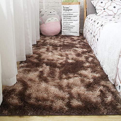 Woonkamer tapijt slaapkamer bed mat eenvoudig modern grijs huishouden vloerkleed zachte huidvriendelijke multi-zone gebruik deken, 2.120cm x 160cm