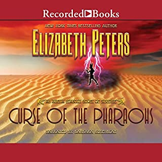 The Curse of the Pharaohs     The Amelia Peabody Series, Book 2              By:                                                                                                                                 Elizabeth Peters                               Narrated by:                                                                                                                                 Barbara Rosenblat                      Length: 11 hrs and 41 mins     167 ratings     Overall 4.4