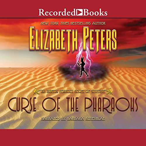 The Curse of the Pharaohs audiobook cover art