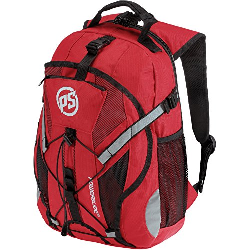 POWERSLIDE Tennisrucksack rot Einheitsgröße