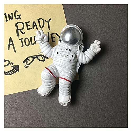 OUMYLFCNEC Imanes de Nevera 3D Frigorífico Imanes Astronauta Refrigerador Pegar Imán Imán Imán Magnet Magnet Mensaje Tablero Colección Regalo Imanes Decorativos para frigorífico (Color : B)