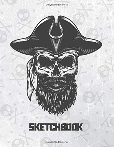 Sketchbook: X-Large Blank Sketching Notebook For Drawing Doodling Or Writing Journals
