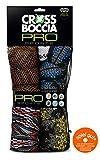Crossboccia Family Pro Pack Race Arrows, Juego de Bocce, 4 x 3 Pelotas, 1 Pelota de Puntería, 970849