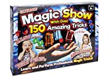 PMS Ultimate Magic Show Set with 150 Amazing Tricks, Childrens Magic Set. Magic Kit Complete with Magic Wand,...