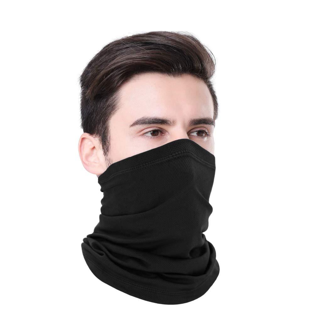 Neck Gaiters Cover Bandana Face Protection Balaclava Scarf Shield for Men Women