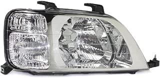Headlight Lens and Housing Compatible with 1997-2001 Honda CR-V Halogen Passenger Side