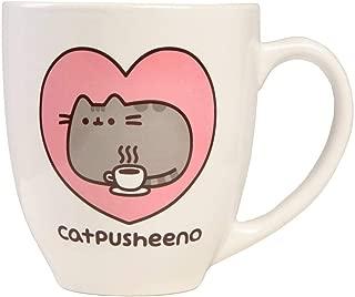 Pusheen Cat 18 oz Mug,White